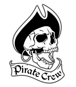Pirate Crew Heavy Metal Club Colors